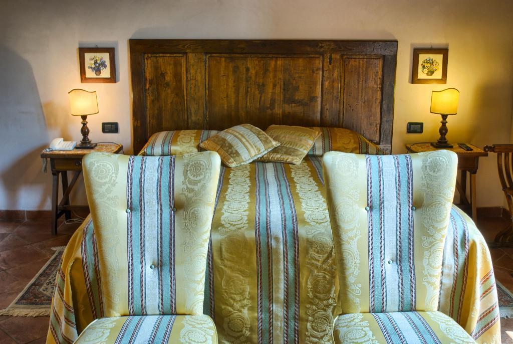 Foto dello stile della camera dell'hotel