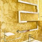 Dettaglio del bagno della Suite