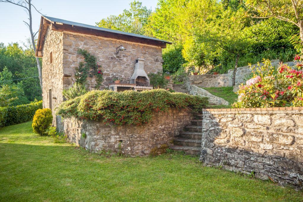Vista del Giardino della Casa di Campagna