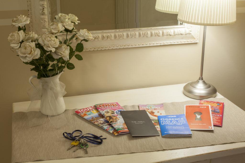 Dettagli brochure disponibili in stanza