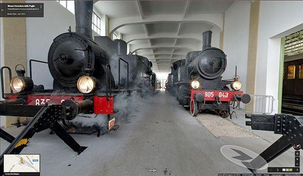 Tour Virtuale Museo Ferroviario - Promozione Turismo